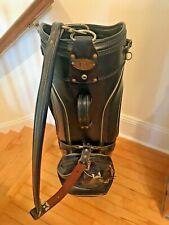 Vintage Burton Staff/Cart Golf Bag Jasper Ala. Rain Cover - Navy Blue