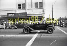 1950s Parade - 1917 Dodge Deluxe Car For Sale - Vintage B&W Negative