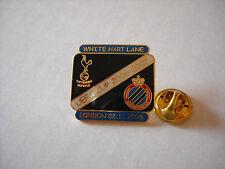 a1 TOTTENHAM - BRUGGE cup uefa europa league 2007 spilla football calcio pins