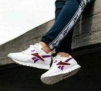 Reebok Classics Mens Rapide OG SU Trainers White/Purple All Sizes