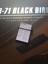 Damtoys SR-71 Black Bird ingegnere di volo di prova Clip Board Loose SCALA 1/6th