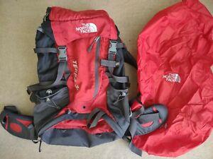 The North Face Red TERRA 35 Rucksack Bag Backpack