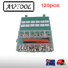 120 PCs Battery cable terminals+free heat shrinks for Solar Inverter  AU seller