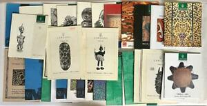 33 Lawsons Tribal Art Artefacts Auction Catalogues. Aboriginal Oceanic African