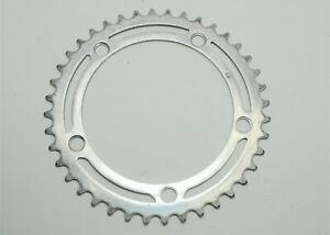 ALLOY 6 SPEED 40 TOOTH ROAD BICYCLE CHAINRING 128 MM BCD 75.2 MM BOLT C TO C