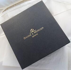 Baume & Mercier mens wristwatch presentation box 14,5 cm x 14,5 cm x 6,5 cm asid