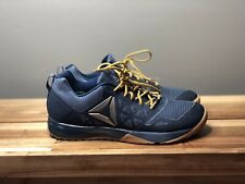 Mens Reebok CrossFit Nano 6 Shoes Denim Navy Blue Gum Rubber Sole Sz. 8