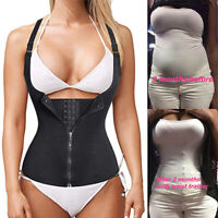 FAJAS REDUCTORAS COLOMBIANAS VEST SHAPER SHAPEWEAR WAIST TRAINER GIRDLE CAMI TOP