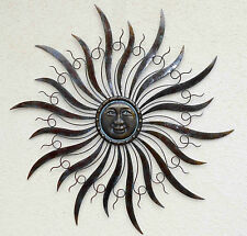 """XXXXL Wanddeko """"Sonne"""" 95cm Durchmesser, aus Eisen, sehr stabil"""