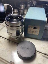 Taylor Hobson Cooke Panchortal 4 inch f/2.5 T/2.5 Cine Lens C Mount