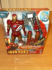 "HASBRO: IRON MAN 2: REPULSOR POWER IRON MAN MARK VI, 10"" FIGURE, 2010!!!"