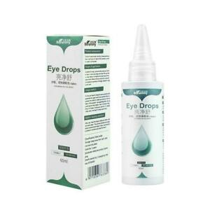 60ml Pet Eye Care Drops Dog Cat Eye Tear Stain Removing New Dirt I0Y9