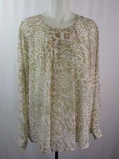 Calvin Para Klein Informal Animal Ebay Blusas Mujeres Estampado qCPw7tF
