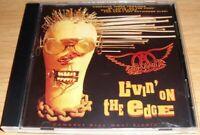 Livin' on the Edge [Maxi Single] by Aerosmith CD Mar-1993, Geffen)