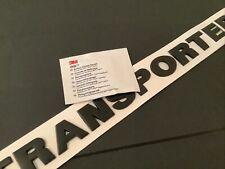 Transporter T5 T5.1 T6 T6.1 Matt Black Rear Letters Badge. Same Day Despatch