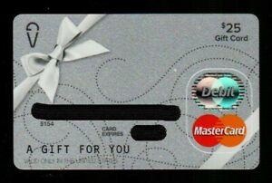 VANILLA Silver Bow 2012 Debit Card ( $0 - NO VALUE)