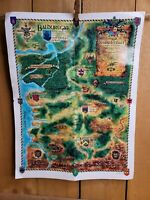 Baldur's Gate Tales of the Sword Coast for PC, 1999 **MAP ONLY***