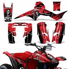 Decal Graphic Wrap Honda TRX250R FourTrax ATV Quad Decal Sticker 86-89 REAP RED