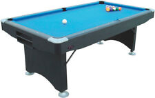 7ft Folding Leg American Pool Table - BUFFALO Challenger - Ideal for Home Use