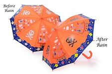 Hilo & Rock Cambio de Color Barco Pirata Niños Chicos abiertos Manual Paraguas Regalo