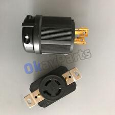 NEMA L14-20P L14-20R Plug Connector for 20 Amp 125/250V Generator Cord Assembly