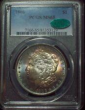 1886 PCGS MS-65 CAC STICKER *SILVER* Morgan Dollar Gorgeous RAINBOW TONE $1