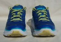 HOKA ONE ONE Women's Clifton 2 Running Shoes True Blue/Sunny Lime US Size 9 US