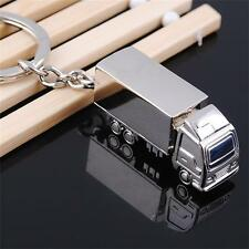 Lorry Truck Metal Keyring Keychain gift Trucker Novelty