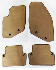 New! 2001 - 2009 Tan Floor Mats Volvo S60 2001-07 XC V70 Cross Country Beige 4pc