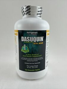 Dasuquin with MSM for Large Dogs (150 Chewable Tabs) NEW 09/2022