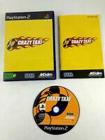 Jeu Playstation 2 PS2 VF  Crazy Taxi  avec notice  Envoi rapide et suivi