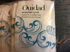 Ouidad Moisture Lock Leave-In Conditioner SAMPLES 50 pouches 0.33 oz each 16.5oz