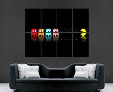 PAC Man Classico GIOCO ATARI FANTASMI poster foto immagine parete art print Grande