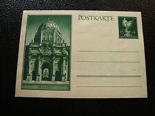 GERMANIA - scheda biglietto (cy53) stamp germany (A)