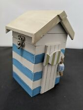 Wooden Beach Hut Decorative Box Shabby Chic #SH-SH1