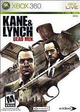 Kane & Lynch: Dead Men (Microsoft Xbox 360, 2007) - European Version