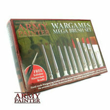 THE ARMY PAINTER Wargames Mega Brush Set NEW Wargaming Miniatures