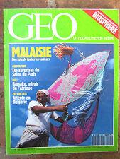 GEO n°145,mars 1991:Bétail français,Bulgarie,Malaisie,Arizona (bionautes),Bamako