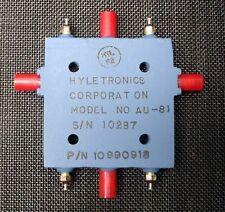 Hyletronics Corporation AU-81 Microwave Switch NEW HAM