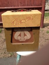 Amplifier Premier 110 vintage circa 1950-1953. Works perfectly . All new tubes .