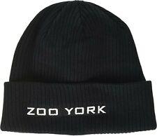 Mens Zoo York Black Beanie New