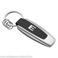 "Mercedes Benz Porte-clés Original ""Typo Classe E"" Acier inoxydable"
