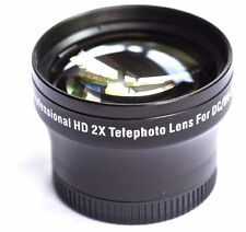 PRO HD 2x TELEPHOTO LENS FOR SONY DCR-SX33E DCR-SX34E