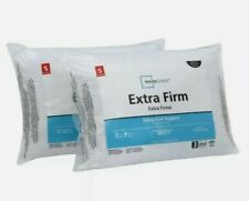 Bed pillow King size 2 pack pillows Extra Firm for side sleeper white Hypoallerg