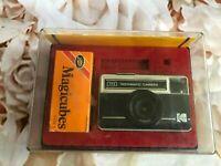 Kodak Instamatic 77-X 126 Vintage Camera - IN ORIGINAL CASE WITH HANDBOOK