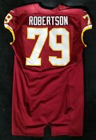 #79 Travian Robertson of Washington Redskins NFL Locker Room Game Issued Jersey
