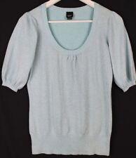 Esprit Cotton Blend Short Sleeve Tops & Blouses for Women