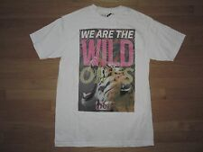 "Mens NEFF ""WE ARE THE WILD ONES"" Cotton Tiger Roar S/S T-Shirt - NWT - MEDIUM"