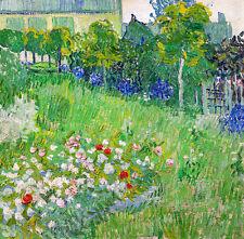 Daubignys Garden by Vincent van Gogh A2+ High Quality Art Print