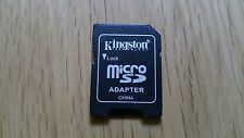Buy 1 Get 1 Free MicroSD To SD Adapter Converter 2GB 4GB 8GB Kingston New